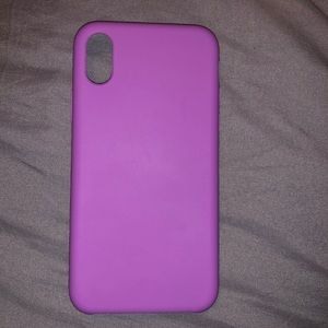 HEYDAY PURPLE IPHONE X CASE